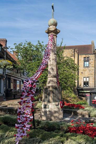 EAST GRINSTEAD WEST SUSSEX/UK - AUGUST 18 : View of the War Memorial in East Grinstead on August 18 2018 photo