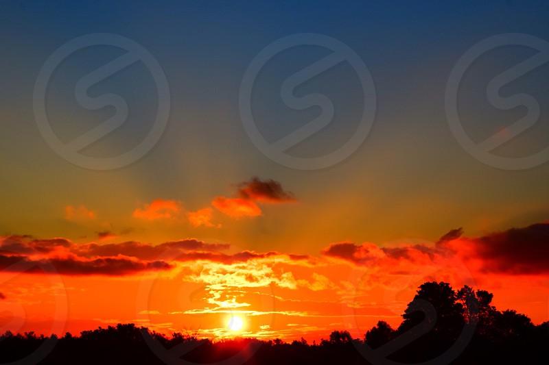 Sunset beautiful wanderlust nature travel Ontario Canada photo