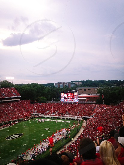 Football Saturday's landscape photo