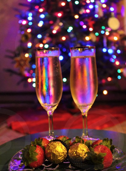 New Year's Eve  champagne celebrate party photo