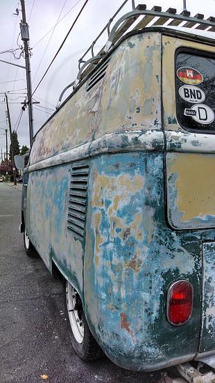 Heavy patina VW photo