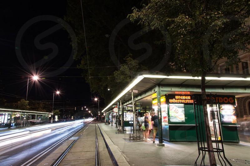 Vienna at night photo