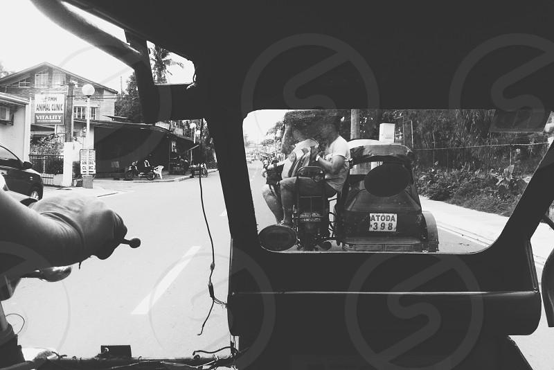 Travel commute local street Manila Philippines photo