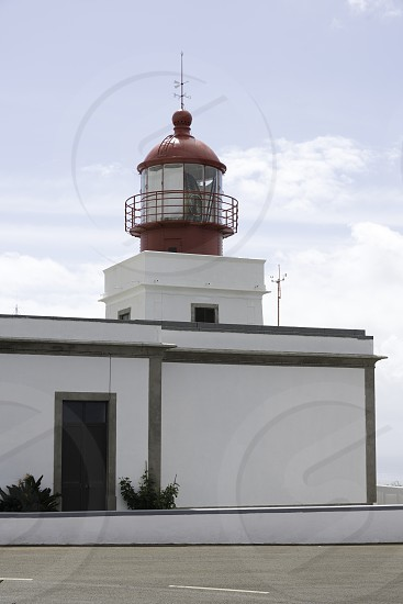 Ponta Do Pargo Lighthouse on madeira island photo