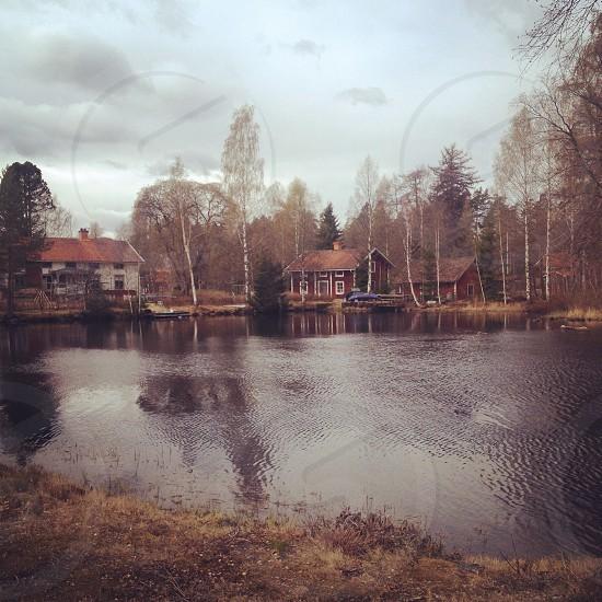 The swedish countryside. photo