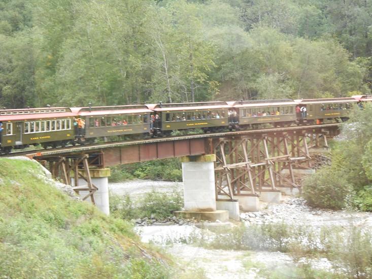 White Pass and Yukon Route Railroad Skagway Alaska photo