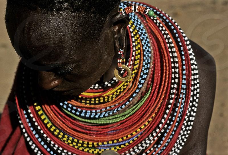 samburu women. kenia photo