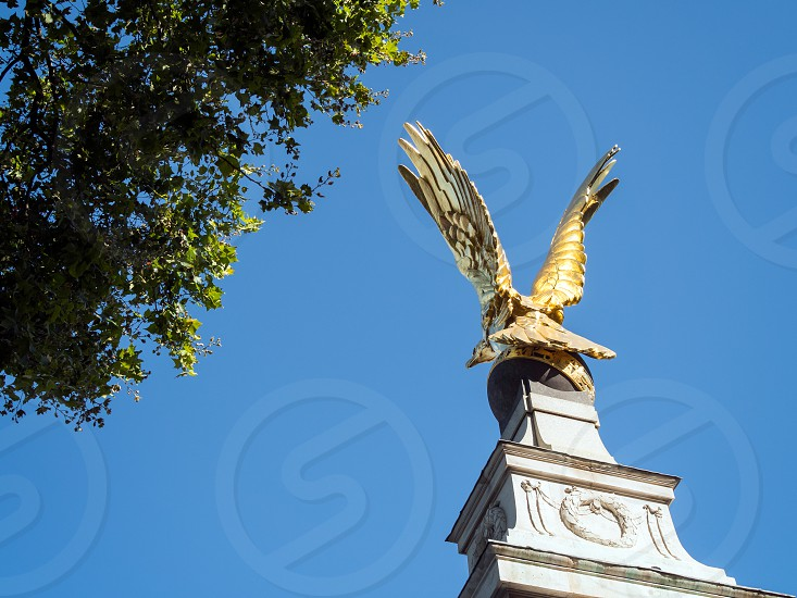 View of the RAF Memorial in London photo