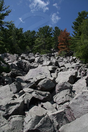 Climb at your own risk devils lake hiking  photo