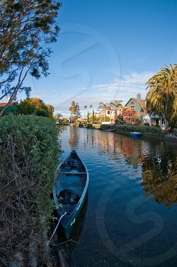 Venice Canals Venice Beach California. photo