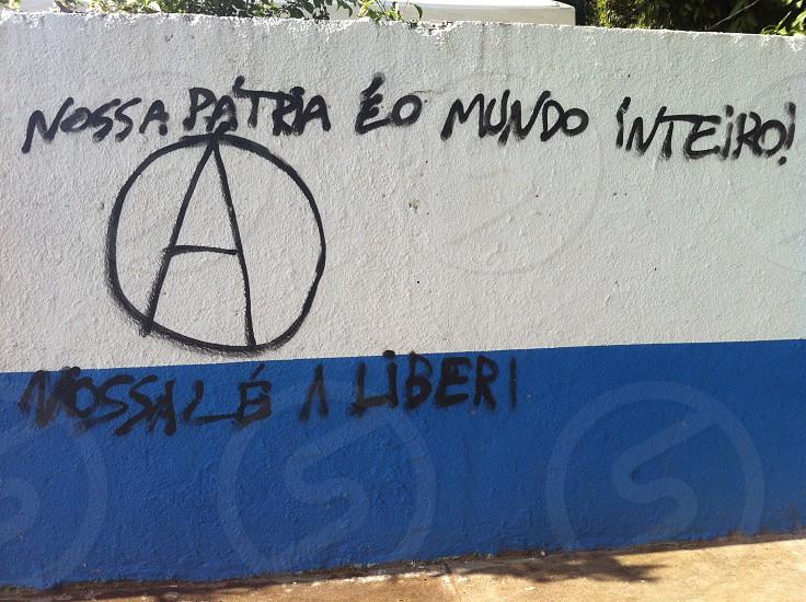 2014 - Our homeland is the whole world Salvador Bahia -Brazil  photo