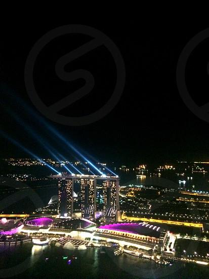 City night lights.  photo