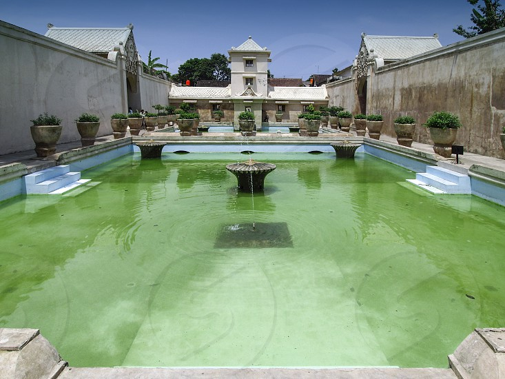 Taman Sari Water Castle the site of a former royal garden of the Sultanate of Yogyakarta Indonesia photo