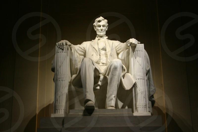 Abraham Lincoln statue Washington D.C.  photo
