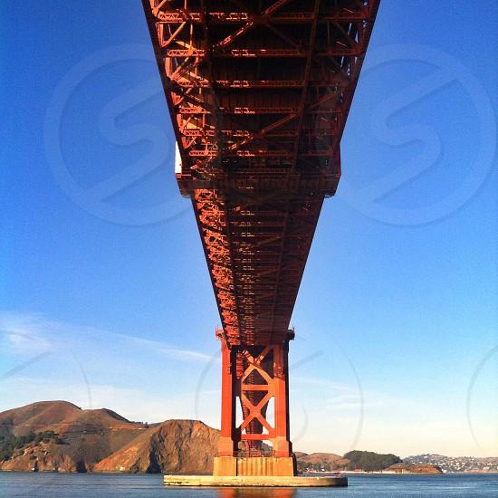 Under the Golden Gate Bridge  photo