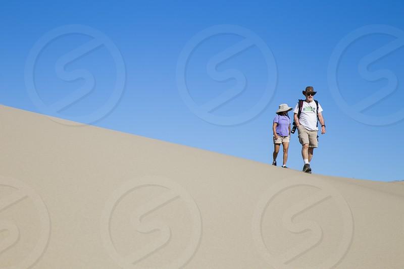 Death Valley National Park travel sand dunes nature explore travel couple photo
