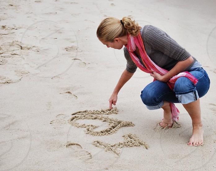 Beach Heart. photo