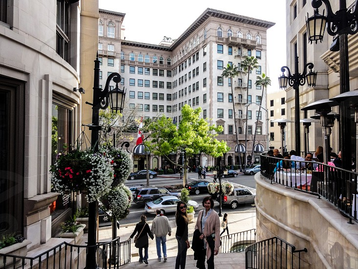 Rodeo Drive - Beverly Hills CA - USA photo