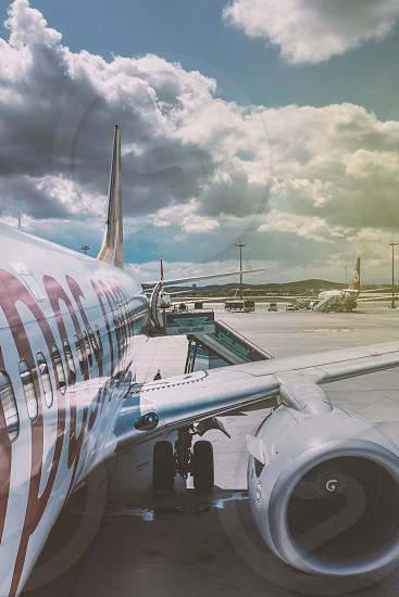 Flight Take off Plane Travel photo