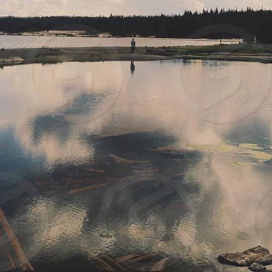 large pond photo