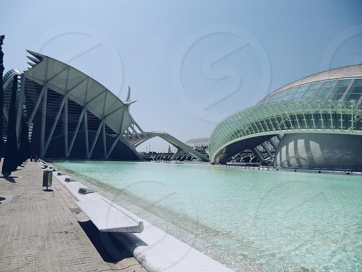 Valencia  hemispheric architecture  photo