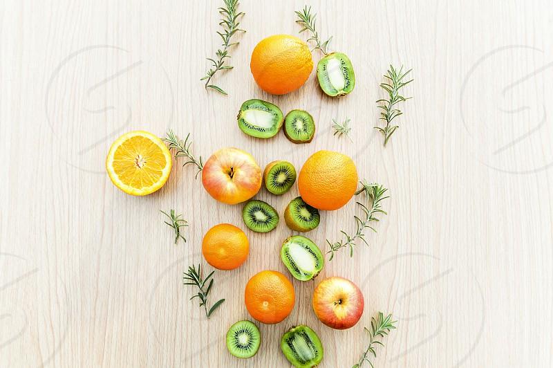 Lots of fruits vibrant photo
