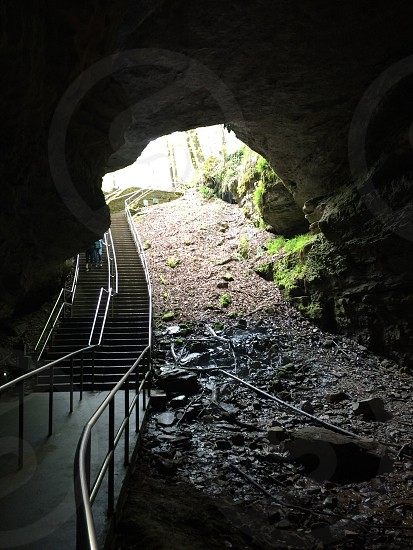 Mammoth cave history ancient prehistoric cave Kentucky  photo