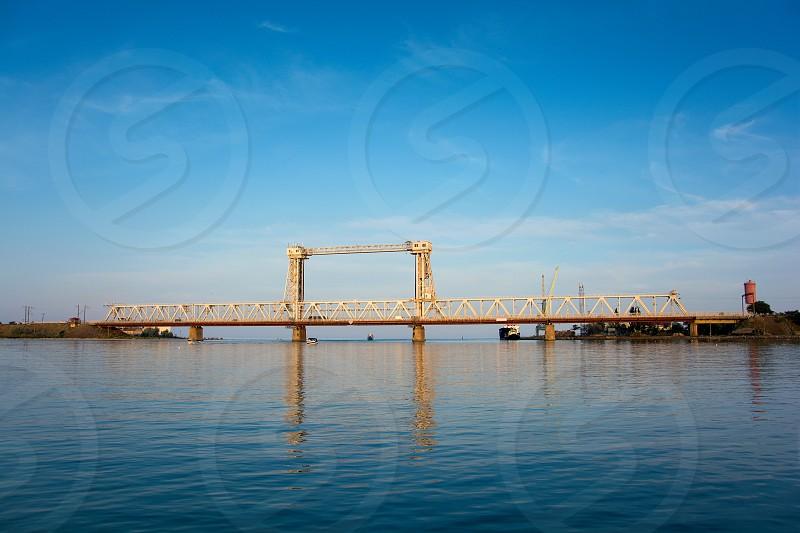 Drawbridge. Zatoka. Odessa region  photo