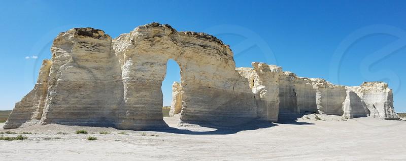 Monument rocks - Kansas. photo