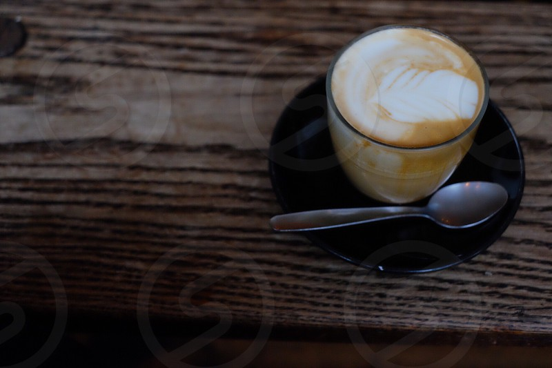 Coffee latte cup Sunday soylatte chill  photo