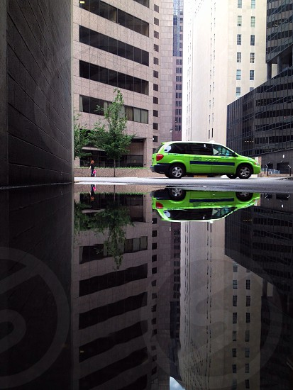 green 4 door station wagon photo