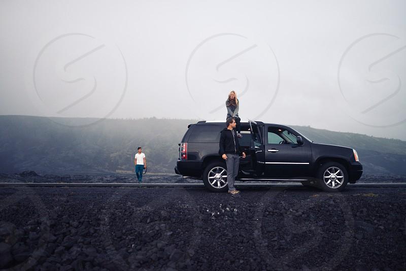 hawaiian hawaii adventure car suv road trip  photo