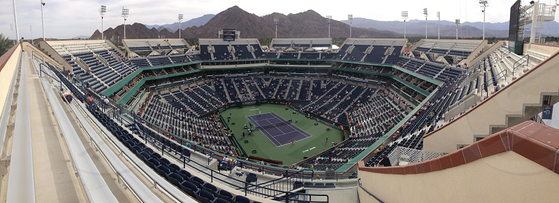 Taken at the 2014 BNP Paribas Tournament in Indian Wells CA in March 2014. photo