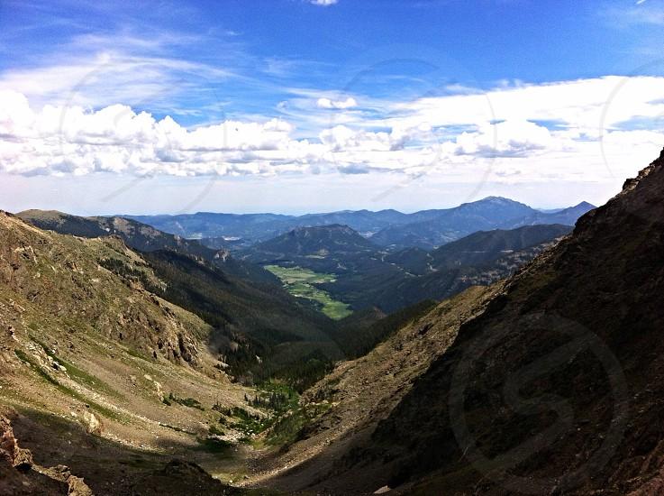Rocky Mountain National Park Chapin Pass photo