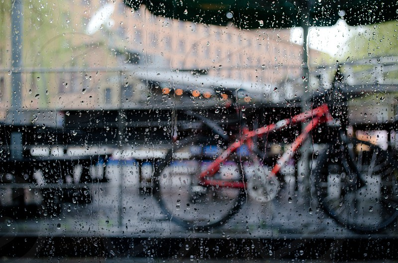 Raining in Cambridge photo