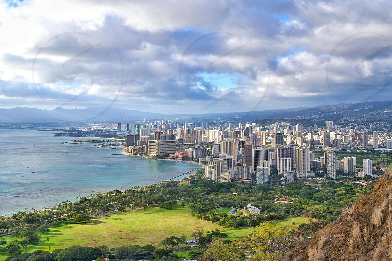 Waikiki via Diamond Head photo