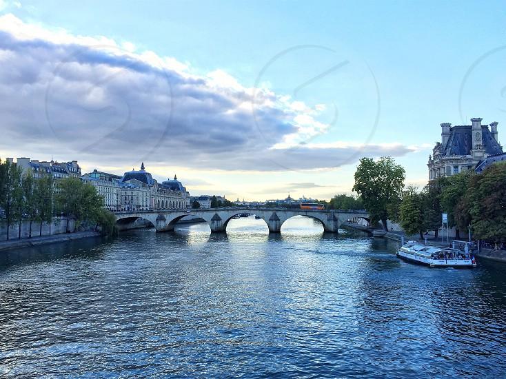 A bridge in Paris. photo