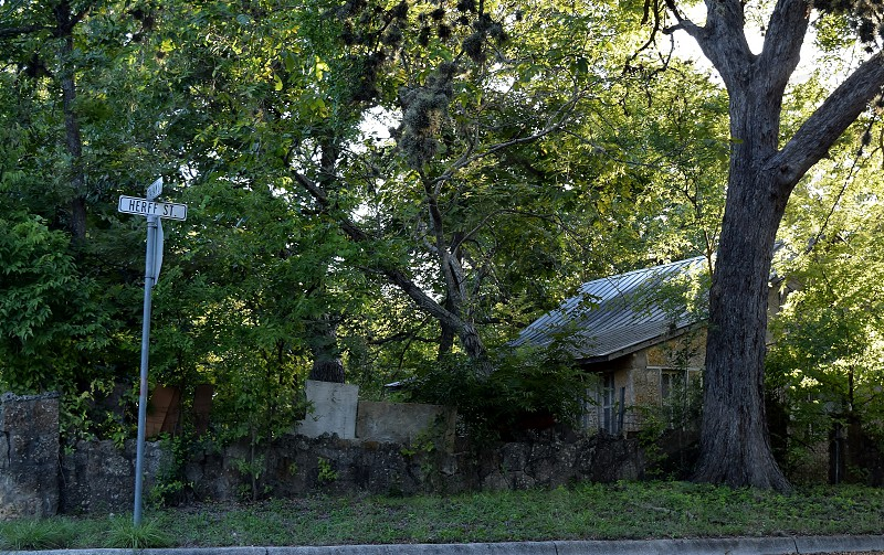 A street in The Flats Boerne Texas photo