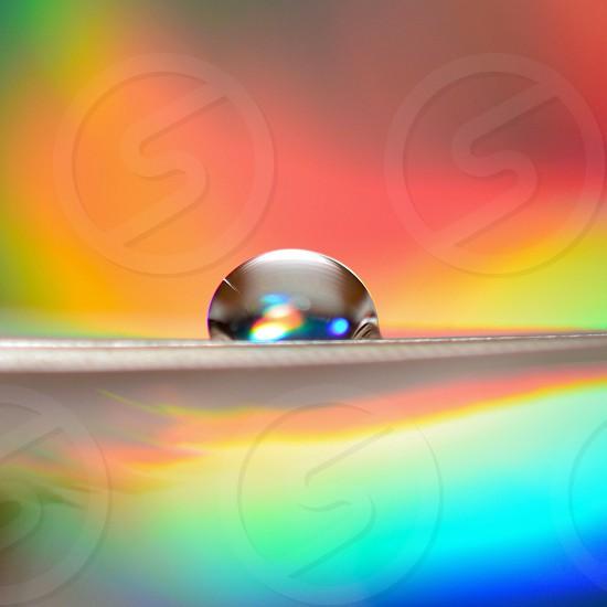 Neon Waterdrops  photo