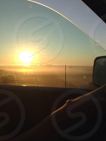 Iowa Morning Mist photo
