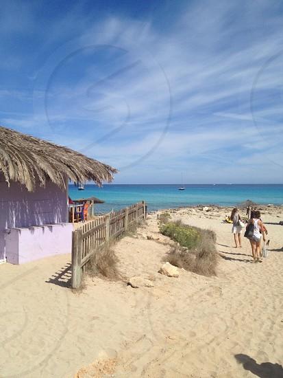 Beach paradise at Formentera photo