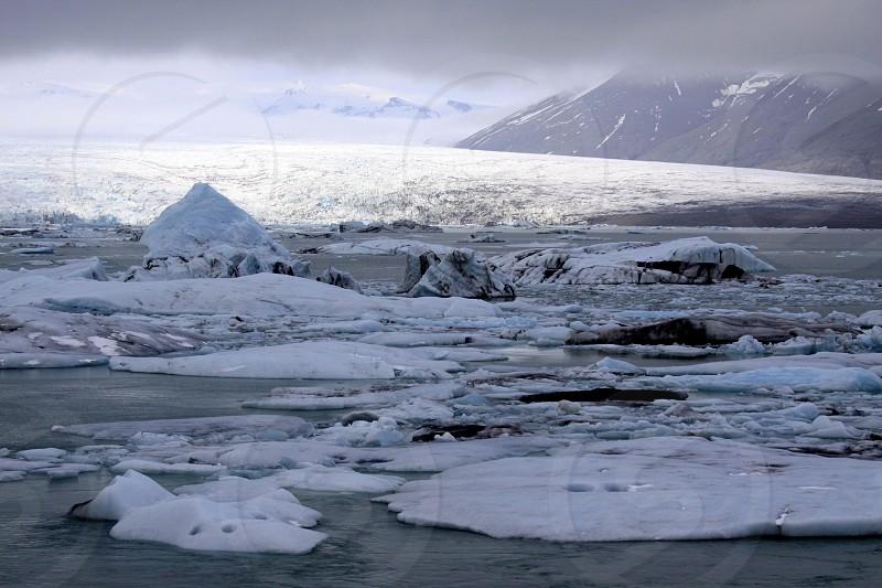 Icebergs in Iceland photo