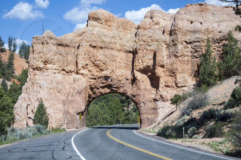 open road landmark photo