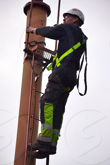 Worker working safety construction adult man people job work photo