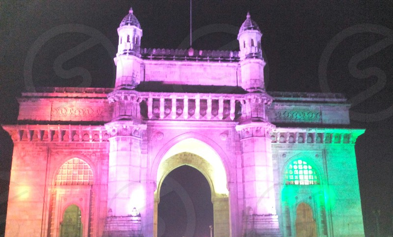 Gate of india in mumbai photo