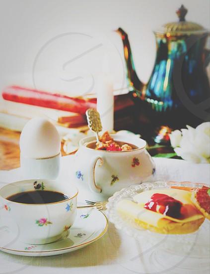 Breakfast scene photo