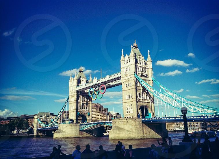 2012 Olympics London Tower Bridge photo