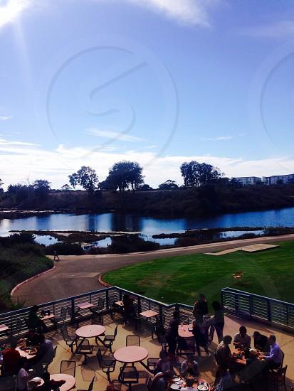 UCSB Lagoon. Finals week. photo