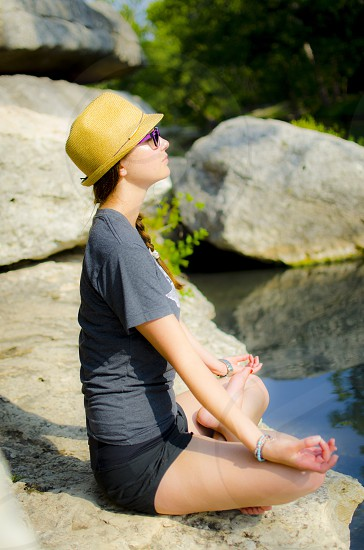 yoga hats nature texas photo