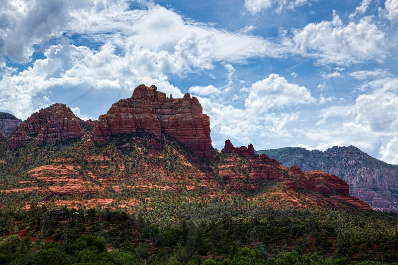 Mountains near Sedona Arizona photo